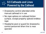 9 5 catheads and lines powered by the cathead58
