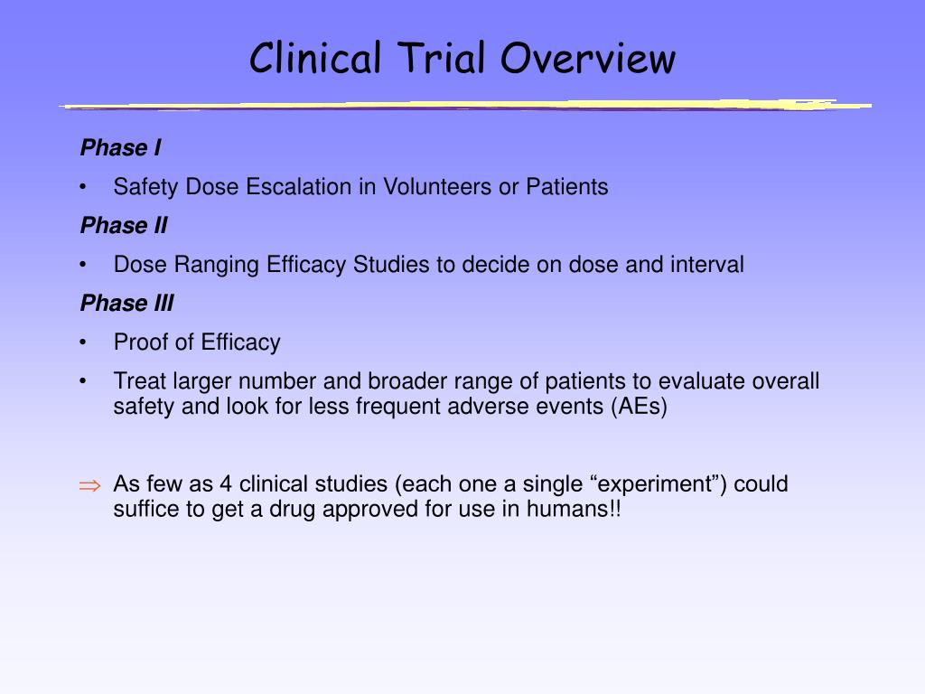 Clinical Trial Overview