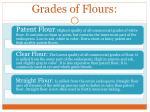 grades of flours