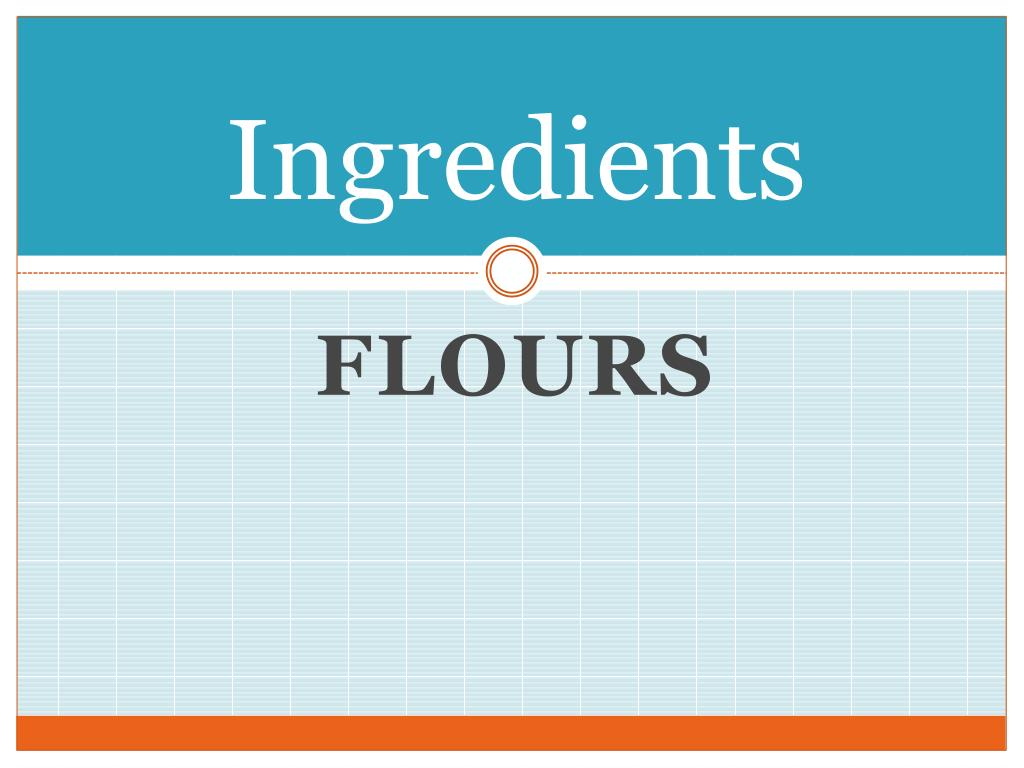 ingredients l.