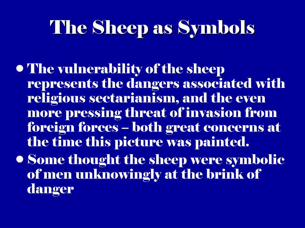 The Sheep as Symbols
