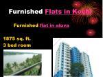 furnished flats in kochi