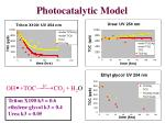 photocatalytic model18