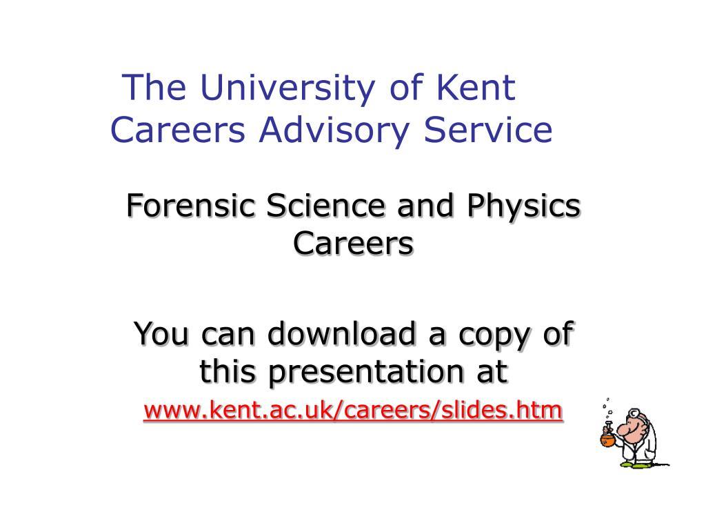 the university of kent careers advisory service l.