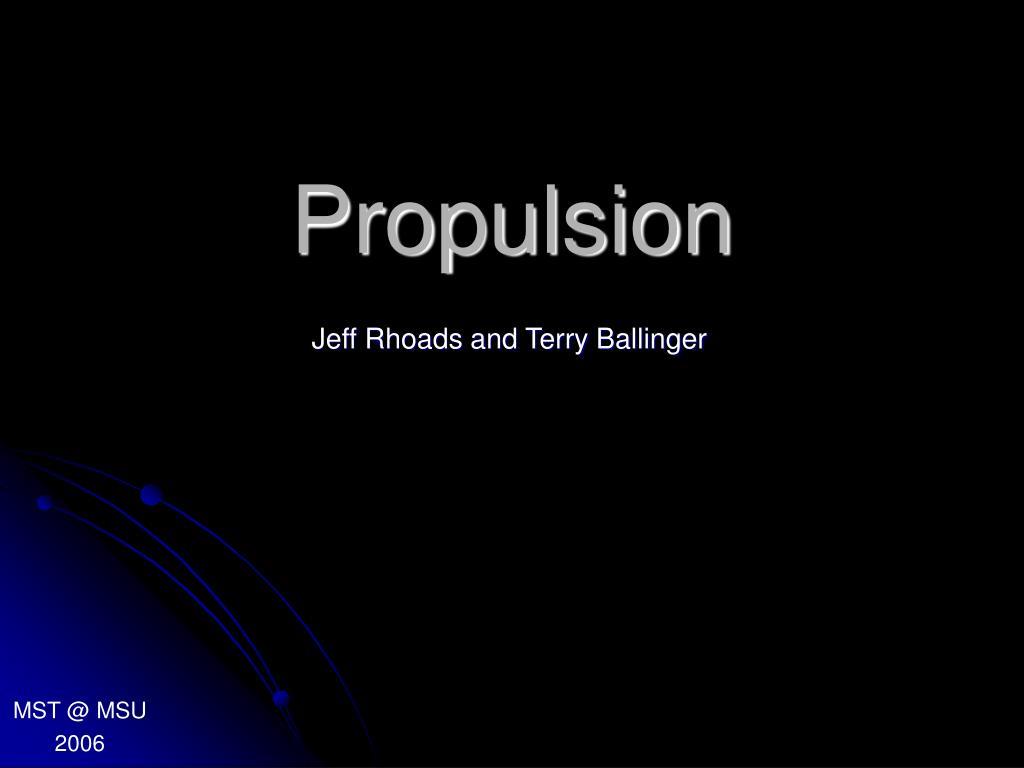 propulsion l.
