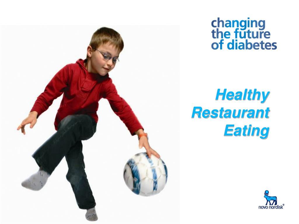 Healthy Restaurant Eating