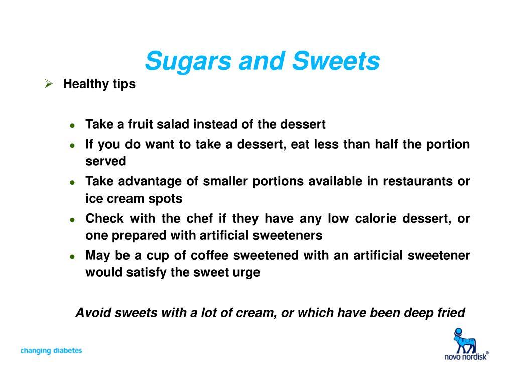 Sugars and Sweets