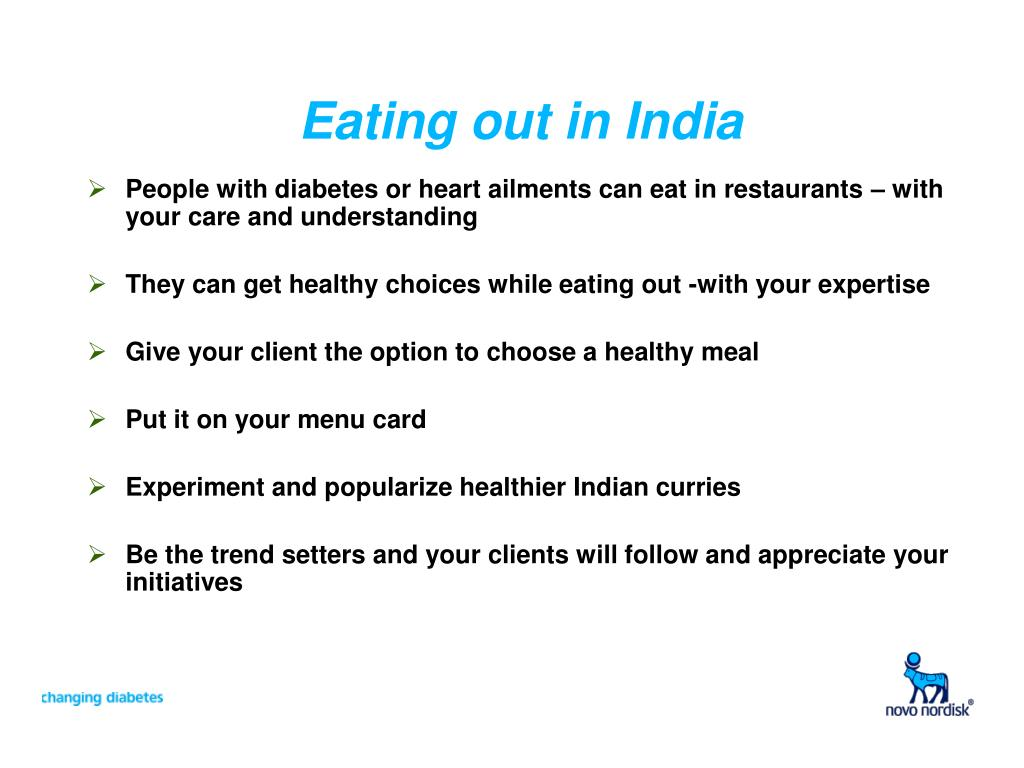 Eating out in India