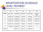amortization schedule level payment8