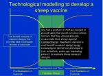 technological modelling to develop a sheep vaccine23