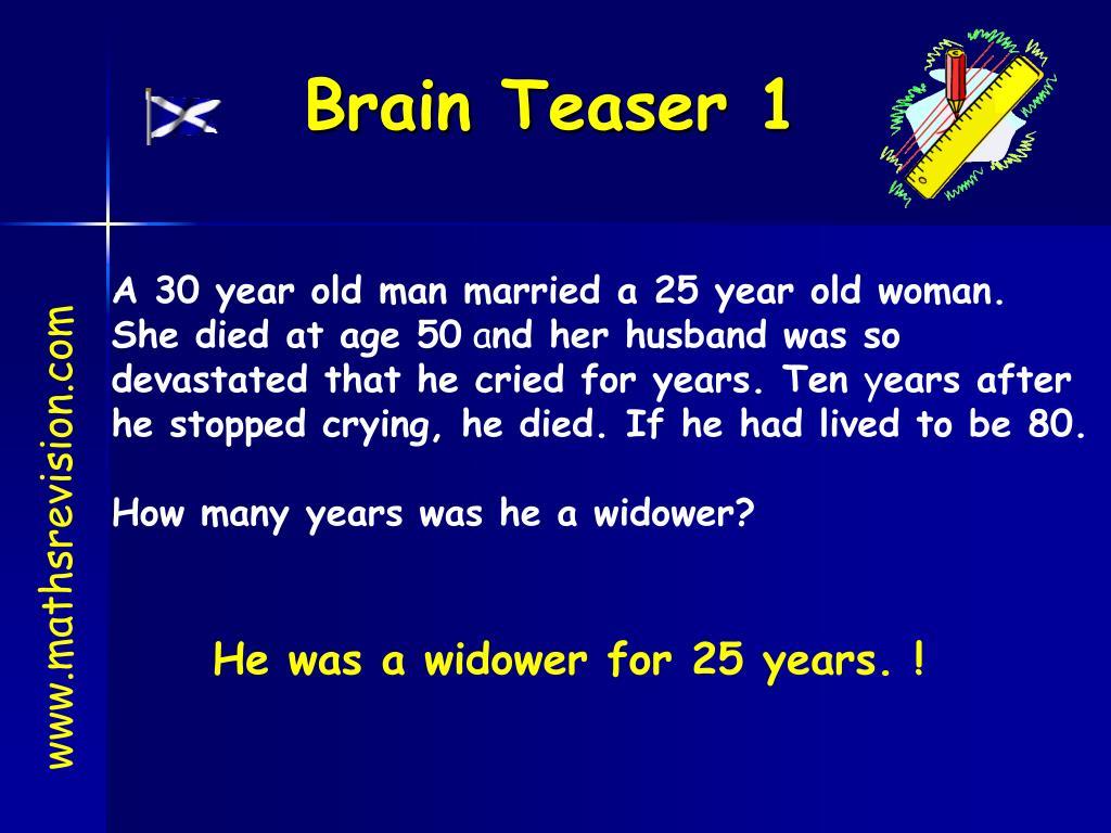 brain teaser 1 l.