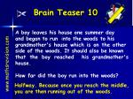 brain teaser 10