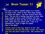brain teaser 11