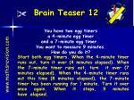 brain teaser 12