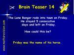 brain teaser 14