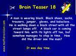brain teaser 18