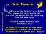 brain teaser 6