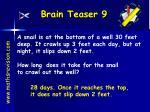 brain teaser 9