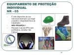 equipamento de prote o individual nr 05