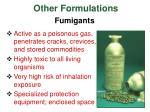 other formulations40