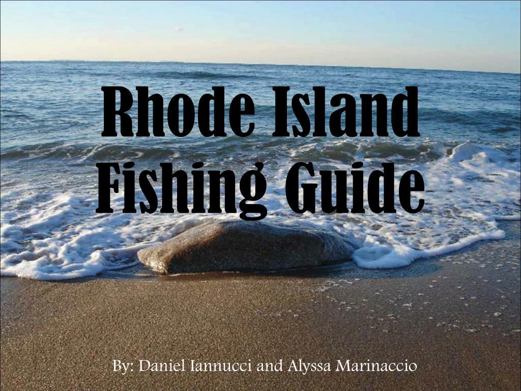 rhode island fishing guide l.