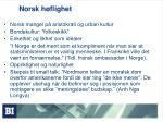 norsk h flighet