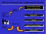 review process for a research grant