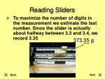 reading sliders9