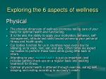 exploring the 6 aspects of wellness10