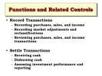 functions and related controls9