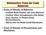 substantive tests for cash balances24