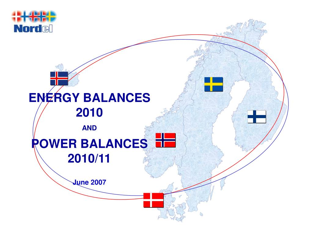 energy balances 2010 and power balances 2010 11 june 2007 l.