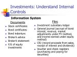 investments understand internal controls10