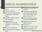 clinical manifestation1