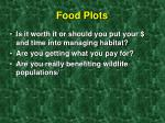 food plots28