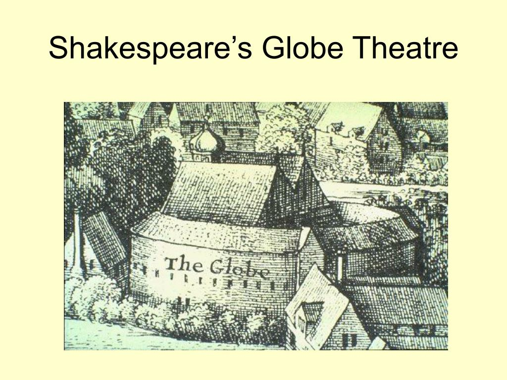 shakespeare s globe theatre l.