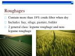 roughages