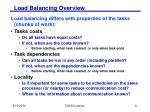 load balancing overview