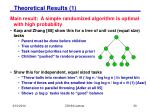 theoretical results 1