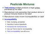 pesticide mixtures