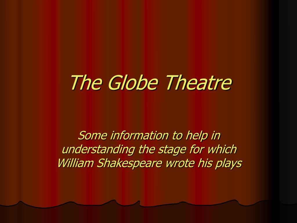 the globe theatre l.