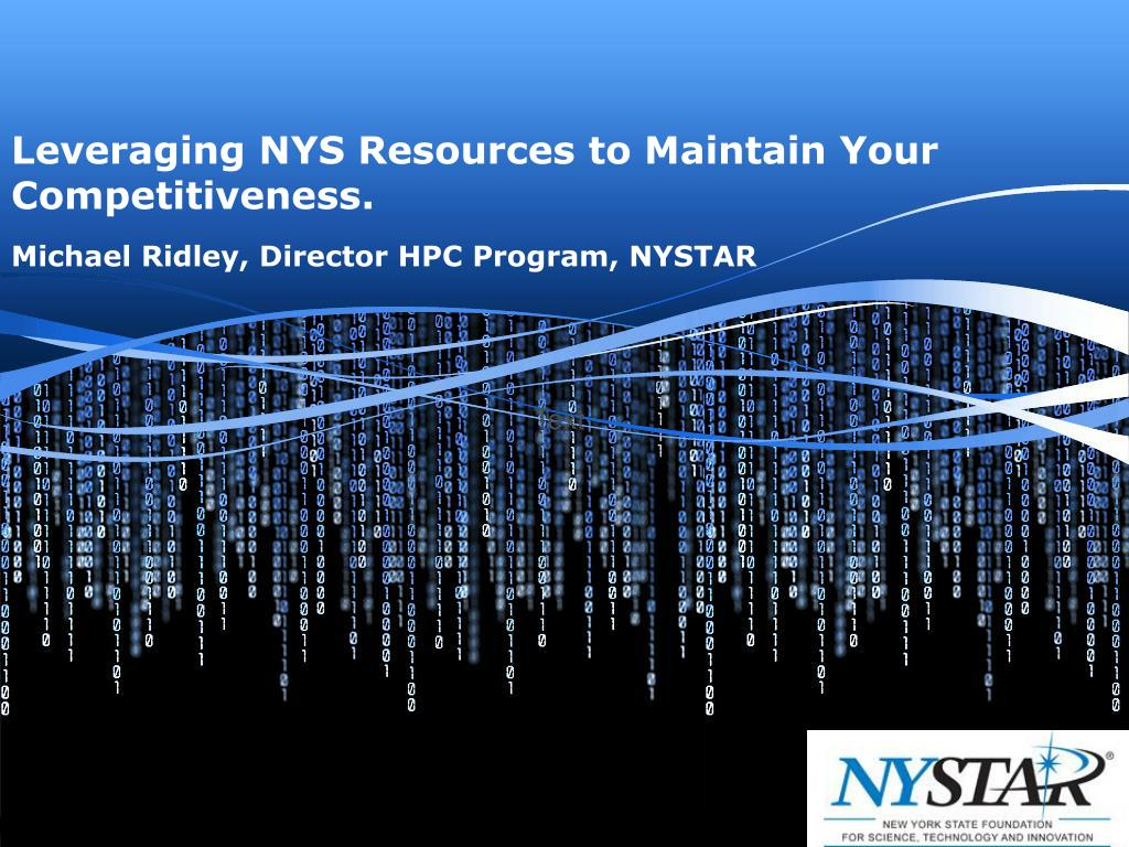 leveraging nys resources to maintain your competitiveness l.