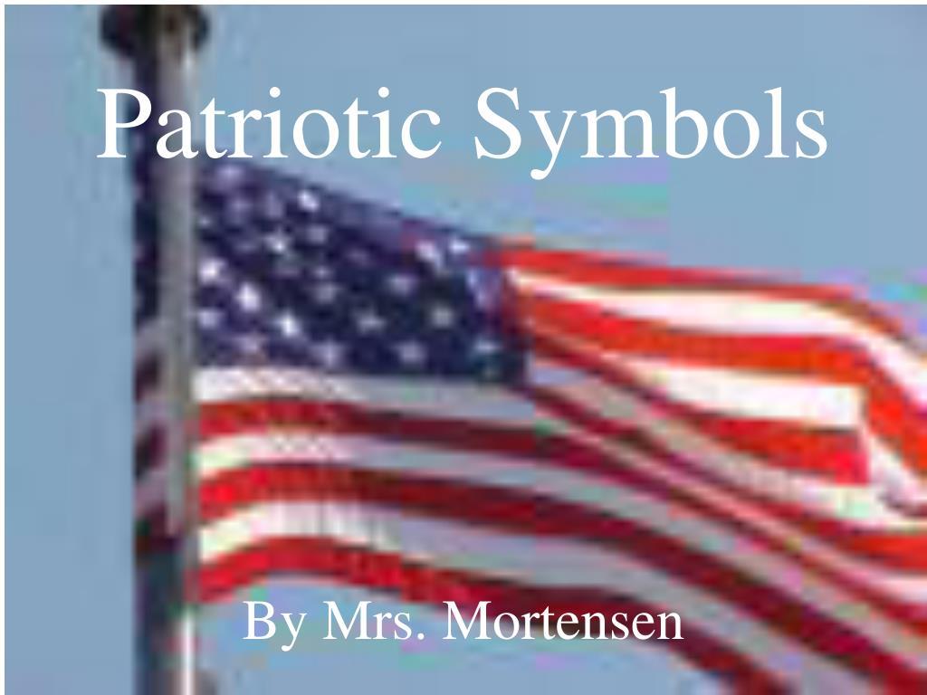patriotic symbols l.