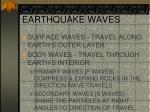 earthquake waves