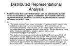 distributed representational analysis