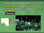 survey of the plant kingdom 21 2 239