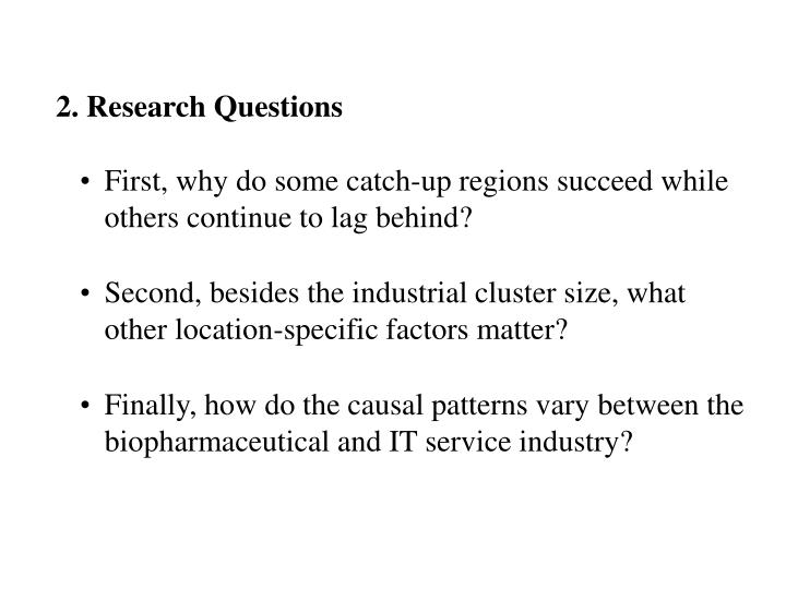 2 research questions