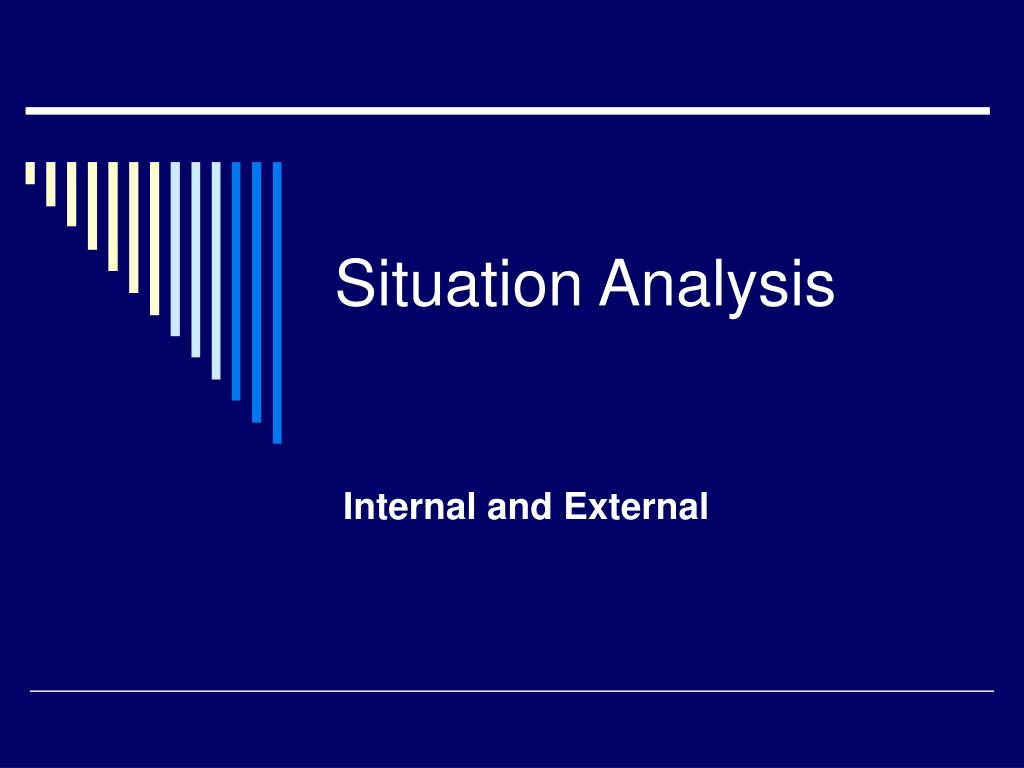situation analysis l.