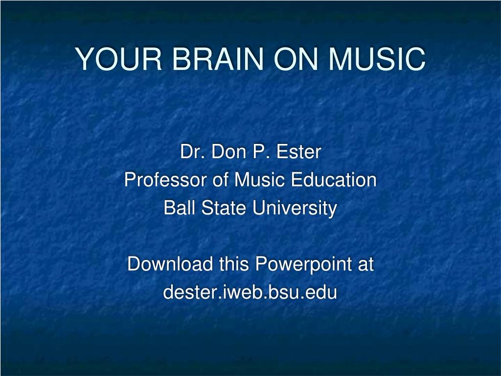your brain on music l.