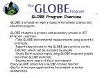 globe program overview